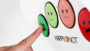 HappyOrNot Customer Survey Kiosk